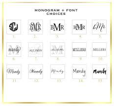 desk calendar pads boutique monogram