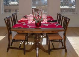 Prepossessing Protective Table Pads Dining Room Tables Within Felt Harian Metro