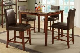 5-PCS COUNTER HEIGHT DINING SET (TABLE + 4 CHAIRS) - Right On Time ... 4 Chair Kitchen Table Set Ding Room Cheap And Ikayaa Us Stock 5pcs Metal Dning Tables Sets Buy Amazoncom Colibrox5 Piece Glass And Chairs Caprice Walkers Fniture 5 Julia At Gardnerwhite Pc Setding Wood Brown Ikayaa Modern 5pcs Frame Padded Counter Height Ding Set Table Chairs Right On Time Design 4family Elegant Tall For Sensational