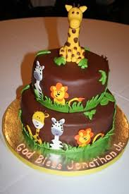 Baby Shower Jungle Cakes Safari Baby Shower Cake Baby Boy Shower In