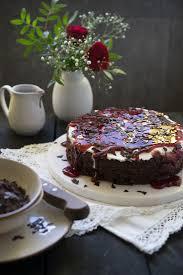 saftiger schokoladen kirsch kuchen schwarzwälder style