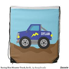 Racing Blue Monster Truck, For Boys Drawstring Bag | Backpacks ... Cheap Monster Bpack Find Deals On Line At Sacvoyage School Truck Herlitz Free Shipping Personalized Book Bag Monster Truck Uno Collection 3871284058189 Fisher Price Blaze The Machines Set Truck Metal Buckle 3871284057854 Bpacks Nickelodeon Boys And The Trucks Shop New Bright 124 Remote Control Jam Grave Digger Free Sport 3871284061172 Gataric Group Herlitz Rookie Boy Bpack Navy Orange Blue