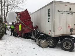 100 Whittemore Truck And Trailer Tractortrailer Crash Closes Portion Of Route 149 Local Poststarcom