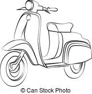 Scooter Clip Art And Stock Illustrations 16307 EPS