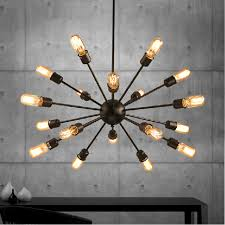 Mordern Nordic Retro Pendant Light Edison Bulb Lights Fixtures Lustre Industriel Iron Loft Antique DIY E27 Spider Ceiling Lamp In From