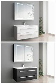 badmöbel set sylt led touch spiegelschrank dein bau projekt