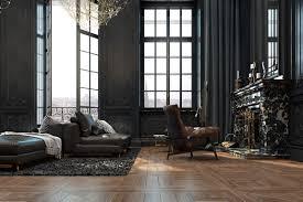 100 Parisian Interior Beautiful Black Showcased In A Historic Paris Apartment