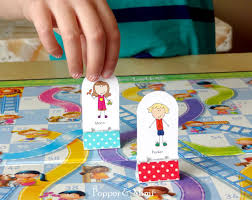Looking For A Family Activity To Encourage Your Kids Imagination Invite Them Help You Easy DIY Game Pieces