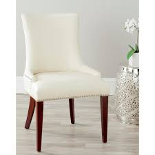 Safavieh Becca Flat Cream Leather Dining Chair MCR4502B - The Home Depot Safavieh Lulu Upholstered Ding Chair In Light Brown And Gold Set Terra Midcentury Modern Fabric Of 2 Buy Fox6228eset2 Holloway Oval Side Black Pu Set Safavieh Mcer Collection Carol Taupe Linen Ring Fox6228g Youtube Navy Cushioned Chairs Safaviehcom Abby Sky Blue Reviews Goedekerscom Mcr4604b Lizzie Ding Chair Set Of 80100 A7005aset2 Fniture By White Home Design Ideas Also Interior Decor Market Becall Natural Cream Shop Parsons Becca Zebra Grey On Sale