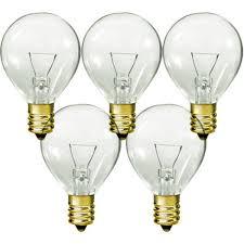 5 watt g9 globe 24 volt clear bulb