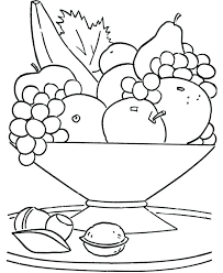 Fresh Healthy Food Coloring Pages line Bulk Color Best Book Diet