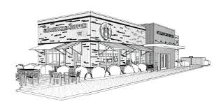 Rendering Of The Proposed Starbucks Location