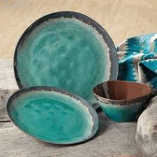Savannah Turquoise Kitchen Canister Set by Savannah Turquoise Kitchen Canister Set And Platter Western
