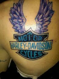 35 Groovy Harley Davidson Tattoos