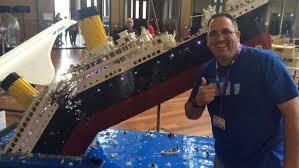 Lego Ship Sinking 3 by Massive Sinking Lego Titanic Required 120 000 Pieces To Make Nerdist