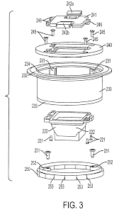 Hubble Poke Through Floor Boxes by Patent Us7795544 Recessed Electrical Outlet Box For Concrete