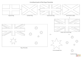 Click The Constituent Parts Of Flag Australia Coloring Pages