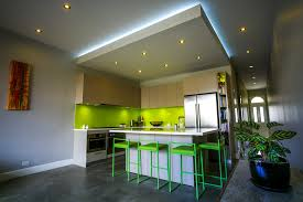 Ceiling Lights For Foyer Kitchen Contemporary With Lime Green Backsplash House Plant Bar Stools