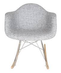 Replica Eames RAR Rocking Chair | Fabric Seat