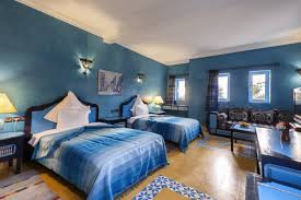 chambre bleu turquoise chambres sultana royal golf site officiel