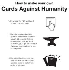 Cards Against Humanity Print