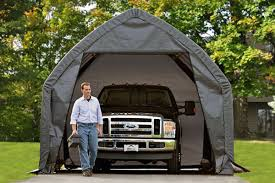 100 Truck Shelters 13x20x12 Alpine Style SUV Shelter Grey Of New England