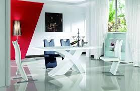 nolana esszimmertisch designertisch modern hochglanz esstisch esszimmer weiß