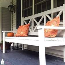 pretty and modern 2x4 outdoor bench very easy to make project