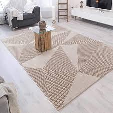 mynes home kurzflor wohnzimmer teppich beige abstrakt vintage skandi muster versch größen größe 160 cm x 230 cm