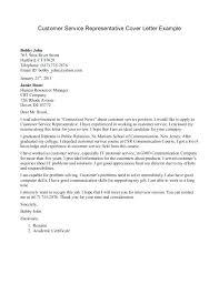 Cover Letter Customer Service Customer Service Call Center Resume