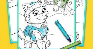 Coloring Pages Paw Patrol Logo Gainweb Info