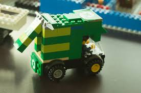 100 Lego Recycling Truck Our Model London LEague