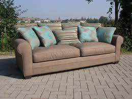 canapé tissus haut de gamme canapé 3 places en tissu riviera coup de soleil mobilier