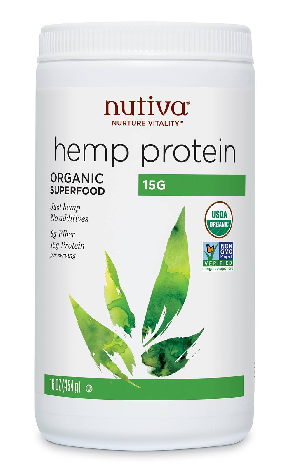 Nutiva Hemp Protein Powder - 16oz