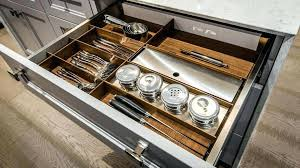rangement pour tiroir cuisine rangements tiroirs et armoires pour cuisines et salles de bain