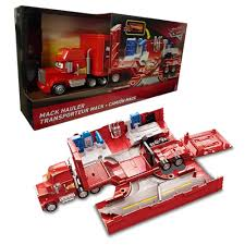 Disney Cars 3 Toy Mack Hauler Travel Garage Workshop NEW BOXED ...