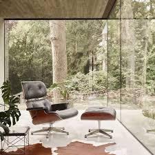 vitra lounge chair poliert seiten schwarz nussbaum schwarz pigmentiert leder schwarz premium f nero neue maße