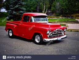 100 Truck Step Up 1956 Custom Chevrolet Side Pick Stock Photo 54664158