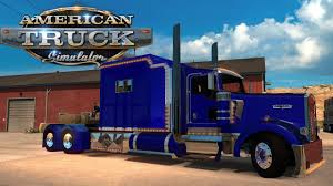 AMERICAN TRUCK SIMULATOR EP 25 ONE BIG SLEEPER!!!!!!! - YouTube