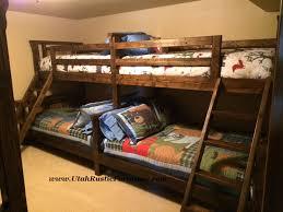 Bradley s Furniture Etc Rustic Log and Barnwood Bunk Beds