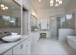 dove gray arabesque glazed ceramic mosaic tile