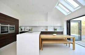 Kitchen Island With Table Attached Round