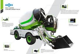 100 Cement Truck Capacity A Great Self Loading Concrete Mixer For Sale Aimix Group