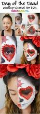 Easy Sugar Skull Day Of by Day Of The Dead Face Painting Tutorial For Kids Entertainment