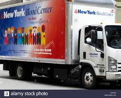 100 Hudson Valley Truck And Trailer The New York Blood Center Truck New York City NY USA Stock Photo