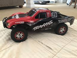 100 Rc Truck With Plow Traxxas Slash VXL RC 4wd Complete RTR W Battery Charger