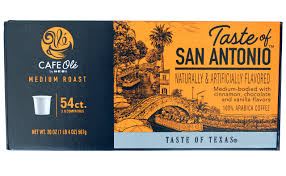 54-Count H.E.B. Cafe Ole --Taste Of San Antonio Single Serve: Amazon ...