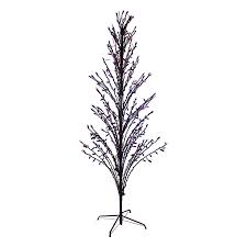 9 Ft Slim Christmas Tree Prelit by Shop Northlight 6 Ft Pre Lit Twig Slim Artificial Halloween Tree