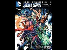 dc comics deck building game crisis expansion pack 1 board