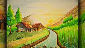 Image Result For Draw With Colored Pencils Scenery